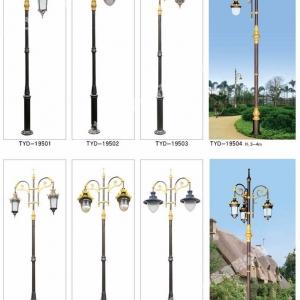 贝博游戏庭院灯制作安装